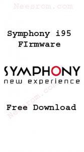 Symphony i95 flash file