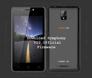 Symphony V20 flash file