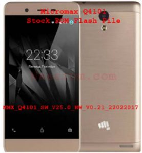 Micromax Q4101 Firmware 6.0 Flash File Without Password