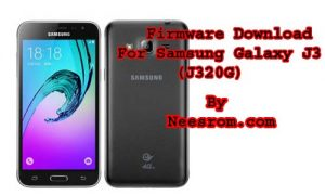 Samsung Galaxy J3 [SM-J320G] Firmware Flash File