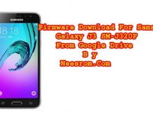 Samsung Galaxy J3 SM-J320H 5.1.1 Firmware Download