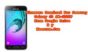 Samsung Galaxy J3 SM-J320H 5.1.1 Firmware Download