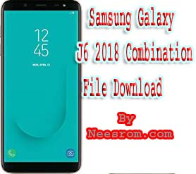 Samsung Galaxy J6 2018 Combination File Download