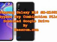 Samsung Galaxy SM-M105F Frp Bypass Combination File