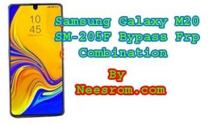 Samsung Galaxy SM-M205F Frp Bypass Combination File | Neesrom
