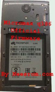 Micromax Q386 Update Stock Firmware Flash File