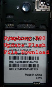 Symphony E80 Hw2 Firmware Flash File Without password