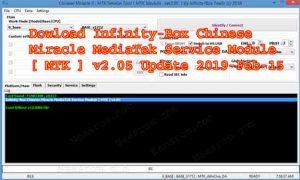 Infinity Box Setup CM2 MT2 v2.05 Update 2019