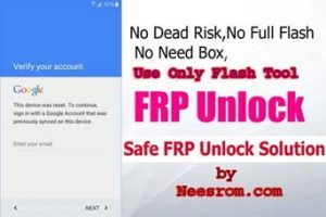We L9 Bypass Frp Reset File Flash With Sp Flash Tool | Neesrom