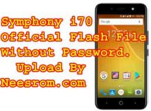 Symphony i70 Firmware flash file without password download
