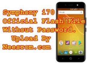 Symphony i70 Firmware MT6580 7,0 Free Download | Neesrom