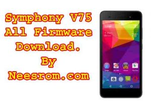 Symphony V75 Firmware flash file All Version Free Download