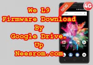 Firmware Flash FIle For We L9 Download