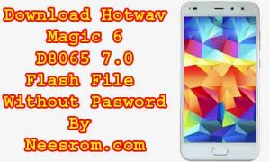 Download Hotwav Magic 6 D8065 7.0 Flash File