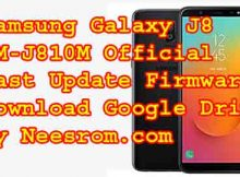 Samsung Galaxy J8 SM-J810Mfirmware