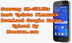 Samsung Galaxy SM-G318Hz Update Firmware Download