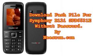 Symphony B12i SPD6531E Flash File Without Password