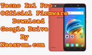 Download Tecno IN1 Pro Firmware Flash File
