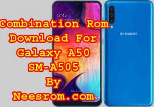 Samsung Galaxy A50 SM-A505 Bypass Frp Combination File