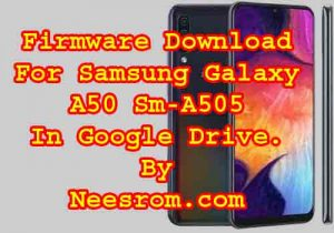 Samsung Galaxy A50 SM-A505 Stock Firmware Rom 9.0 Pie Download