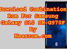 Samsung Galaxy S10 SM-G970F Combination File