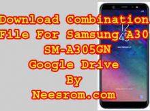 Samsung Galaxy A30 SM-A305GN Firmware 9.0