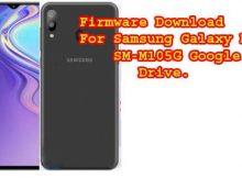 Samsung M10 SM-M105G Firmware