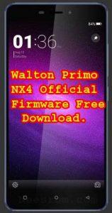 Walton Primo NX4 Flash File Without Password