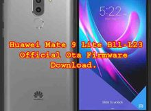 Firmware Download For Huawei Mate 9 Lite Bll-L23