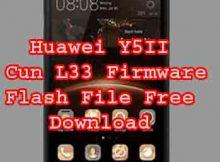 Huawei Y5II Cun L33 firmwareRom Flash File