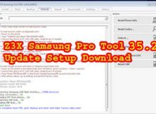 Z3X Samsung Pro Tool 35.2 Update Setup Download