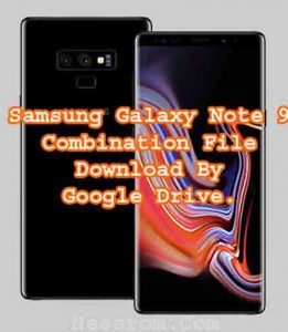Samsung Galaxy Note 9 SM-N960F Combination file