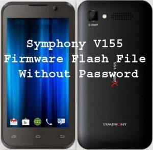 Symphony V155 Firmware Flash File Free Download