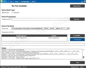 Qualcomm Flash Image Loader QFIL Tool All Version
