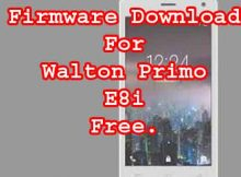 Walton Primo E8i Firmware Flash File