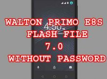 WALTON PRIMO E8S FLASH FILE WITHOUT PASSWORD