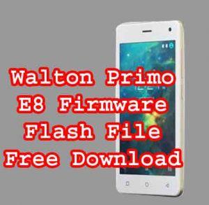 Walton Primo E8 Flash File Without Password
