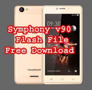 Symphony v90 firmware flash file