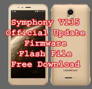Symphony V135 firmware Flash File Without Password