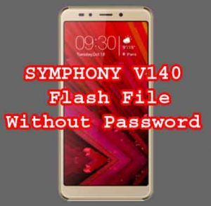SYMPHONY V140 Firmware Flash File Without Password