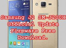 SAMSUNG GALAXY J2 SM-J200H FIRMWARE FLASH FILE DOWNLOAD