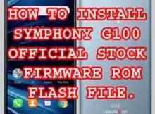 Symphony G100 Bypass FRP File