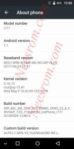 Ice phone i777 Firmware Flash File 7.1 Without Password