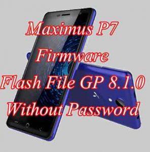 Maximus P7 FPR Reset File