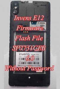 Invens E12 Firmware Flash File 6.0 Without Password