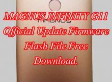 MAGNUS INFINITY G11 Firmware Flash File Free Download