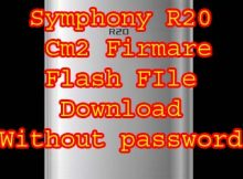 Symphony R20 Firmware Flash File Without Password