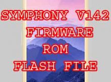 SYMPHONY V142 FIRMWARE ROM FLASH FILE WITHOUT PASSWORD