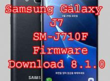 Samsung Galaxy J7 6 SM-J710F firmware U5 Rom Flash File