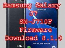 Samsung Galaxy J7 6 SM-J710F firmware U5 RomFlash File